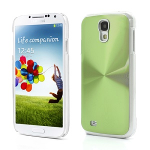 CD Veins Metal Aluminium Hard Case Shell for Samsung Galaxy S IV S4 i9500 i9505 - Green