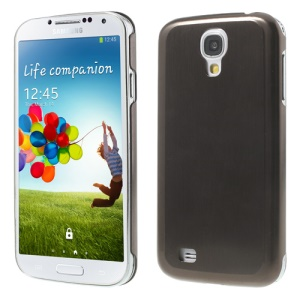 Brown Durable Brushed & Electroplated Metal Hard Shell for Samsung Galaxy S IV I9502 i9500