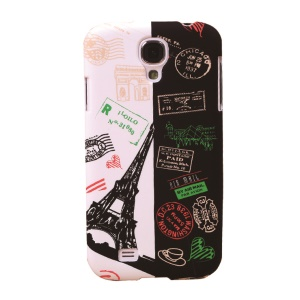 Umku Paris Eiffel Tower Airmail Style Hard Shell for Samsung Galaxy S4 I9502