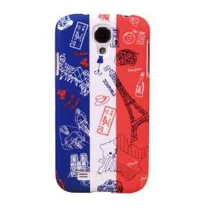 Umku French Elements & France Flag PC Cover for Samsung Galaxy S4 I9500
