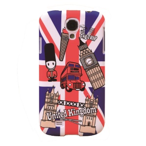 Umku UK Double-Decker Bus & Big Ben Plastic Cover for Samsung Galaxy S4 I9505