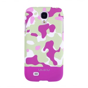 Rose Umku Camouflage Series for Samsung Galaxy S4 I9502 Hard Back Case