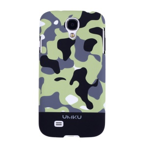 Black Umku Camouflage Series for Samsung Galaxy S4 I9500 PC Protective Case