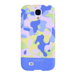 Light Blue Umku Camouflage Series for Samsung Galaxy S4 I9500 PC Protective Case