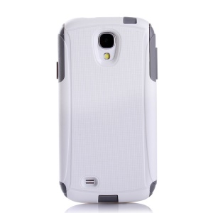 Shockproof Dirt-proof PC + TPU Hybrid Protection Case for Samsung Galaxy S4 I9500 I9502 I9505 - White