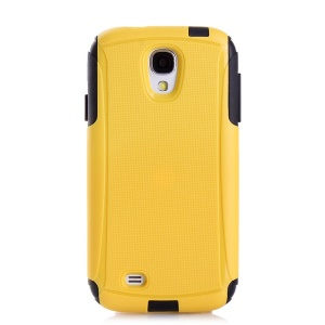Shockproof Dirt-proof PC + TPU Hybrid Case Accessory for Samsung Galaxy S4 I9505 - Yellow