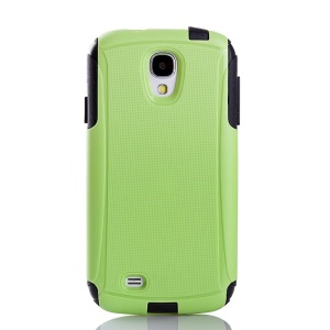 Shockproof Dirt-proof PC + TPU 2 in 1 Protector Shell for Samsung Galaxy S4 I9505 - Green