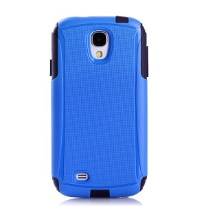 Shockproof Dirt-proof PC + TPU 2 in 1 Protective Shell for Samsung Galaxy S4 I9500 - Dark Blue