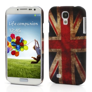 Retro Union Jack UK Flag Hard Case Shell for Samsung Galaxy S4 S IV i9500 i9505