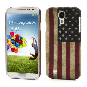 Retro United States American Flag Hard Case for Samsung Galaxy S 4 IV i9500 i9505