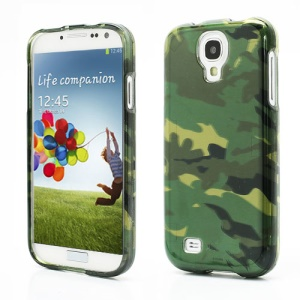 Camouflage Super Sleek Snap-On Protective Hard Case for Samsung Galaxy S IV i9500 i9505