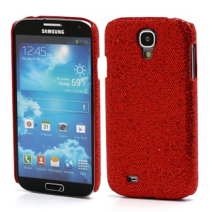 Glittery Sequins Hard Protective Case for Samsung Galaxy S IV S 4 i9500 i9502 i9505 - Red