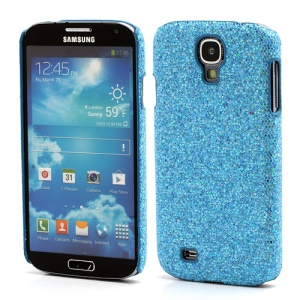 Glittery Sequins Hard Protective Case for Samsung Galaxy S IV S 4 i9500 i9502 i9505 - Light Blue