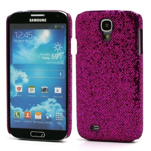 Glittery Sequins Hard Protective Case for Samsung Galaxy S IV S 4 i9500 i9502 i9505 - Rose