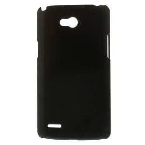 Black Rubberized Hard Case for LG L80 Dual SIM D370