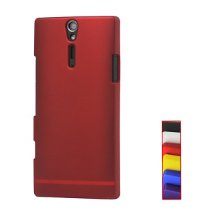 Rubberized Hard Case Cover for Sony Xperia S LT26i LT26a / Nozomi