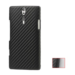 Carbon Fiber Hard Case for Sony Xperia S LT26i LT26a / Nozomi