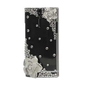 Deluxe Rose Diamond Hard Case for Sony Xperia S LT26i LT26a / Nozomi