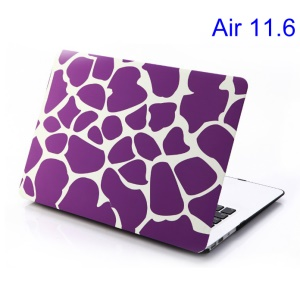 Purple Irregular Patterns for MacBook Air 11.6 inch Hard Shell Cover