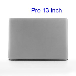 Snap-on Slim Crystal Case Cover for MacBook Pro 13.3 inch (A1278 Old Model) - Transparent