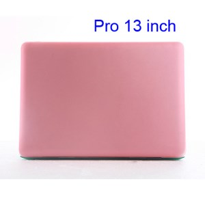 Snap-on Slim Crystal Case Cover for MacBook Pro 13.3 inch (A1278 Old Model) - Translucent Pink