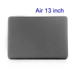 Crystal Hard Case Full Cover Skin for Macbook Air 13.3 - Translucent Grey