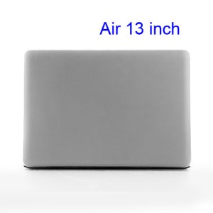 Crystal Hard Case Full Cover Skin for Macbook Air 13.3 - Transparent