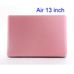 Crystal Hard Case Full Cover Skin for Macbook Air 13.3 - Translucent Pink
