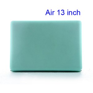 Crystal Hard Case Full Cover Skin for Macbook Air 13.3 - Translucent Green
