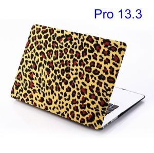 Red Leopard Yellow Background Hard Shell for MacBook Pro 13.3 inch (A1278 Old Model)