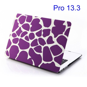Purple Irregular Patterns Protective Case for MacBook Pro 13.3 inch (A1278 Old Model)