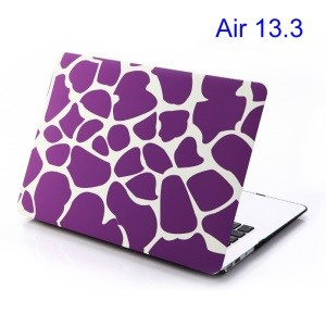 For Apple Macbook Air 13.3 Hard Shell Purple Irregular Patterns