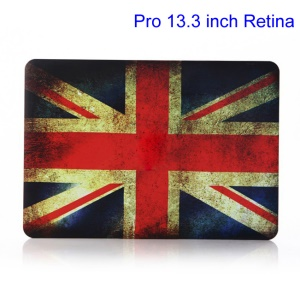 Vintage Union Jack Flag Hard Shell for MacBook Pro 13.3 inch Retina Display A1425