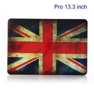Vintage UK National Flag Plastic Case for MacBook Pro 13.3 inch A1278 Old Model