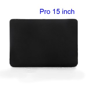 15&quot; 15.4&quot; MacBook Pro Crystal Full Body Case Cover (A1286 Old Model) - Black