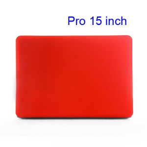 15&quot; 15.4&quot; MacBook Pro Crystal Full Body Case Cover (A1286 Old Model) - Translucent Red