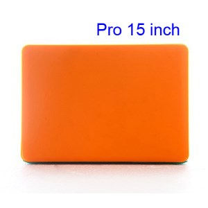 15&quot; 15.4&quot; MacBook Pro Crystal Full Body Case Cover (A1286 Old Model) - Translucent Orange