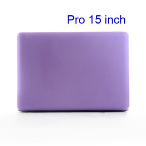 15&quot; 15.4&quot; MacBook Pro Crystal Full Body Case Cover (A1286 Old Model) - Translucent Purple