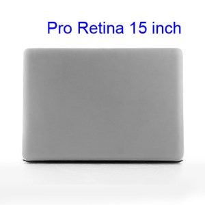 Crystal Protective Case Cover for Apple MacBook Pro 15.4 inch with Retina Display (A1398) - Transparent
