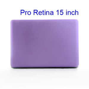 Crystal Protective Case Cover for Apple MacBook Pro 15.4 inch with Retina Display (A1398) - Translucent Purple