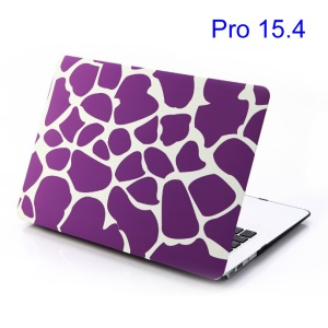 For MacBook Pro 15.4 inch A1286 (Old Model) Hard Case Purple Irregular Patterns