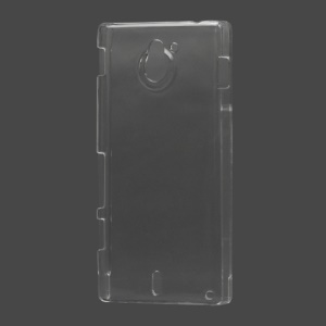 Ultra-thin Clear Crystal Case Cover for Sony Xperia Sola MT27i Pepper