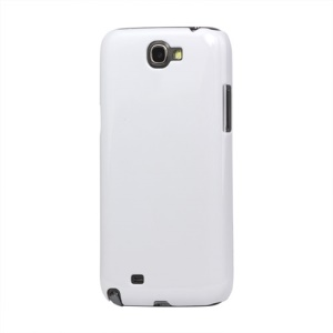 Slim Clear Crystal Case Cover for Samsung Galaxy Note II N7100 - White