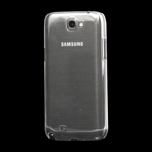 Slim Clear Crystal Case Cover for Samsung Galaxy Note II N7100 - Transparent