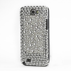 Elegant Rhinestone Pearl Hard Case for Samsung Galaxy Note 2 / II N7100