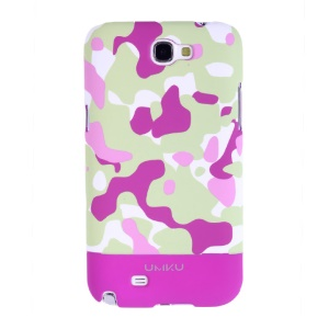 Rose Umku for Samsung Galaxy Note II N7100 Camouflage Series PC Hard Shell
