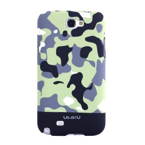 Black Umku for Samsung Galaxy Note 2 N7100 Camouflage Series Hard Case