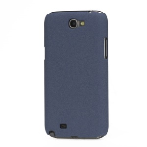 Quicksand Hard Plastic Case for Samsung N7100 Galaxy Note 2 / II - Light Blue