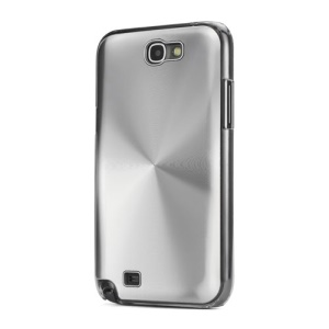 CD Veins Hard Protective Case for Samsung Galaxy Note 2 / II N7100 - Silver