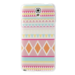 Tribal Pattern Relief Design Hard Shell for Samsung Galaxy Note 3 Neo N750 N7502 N7505